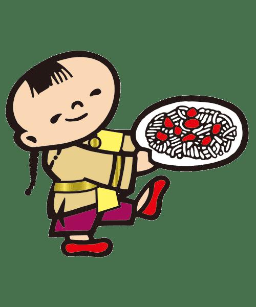 ケンミン坊や(衣装)