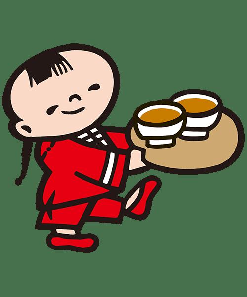 ケンミン坊や(お茶)