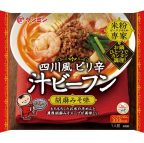 非公開: 米粉専家 四川風ピリ辛汁ビーフン 胡麻みそ味