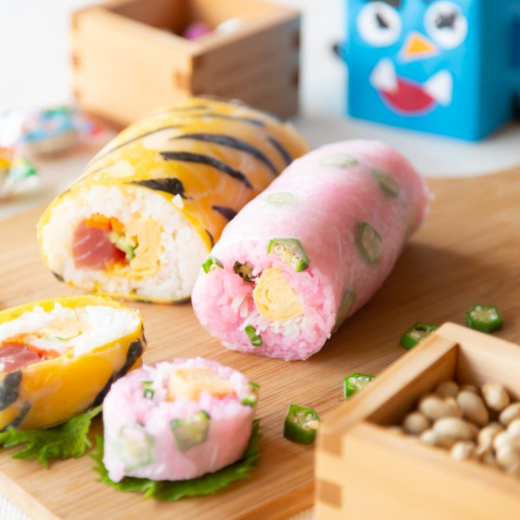 恵方巻き風 生春巻き寿司