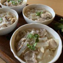 タイの母の味♪あったかスープのフォー