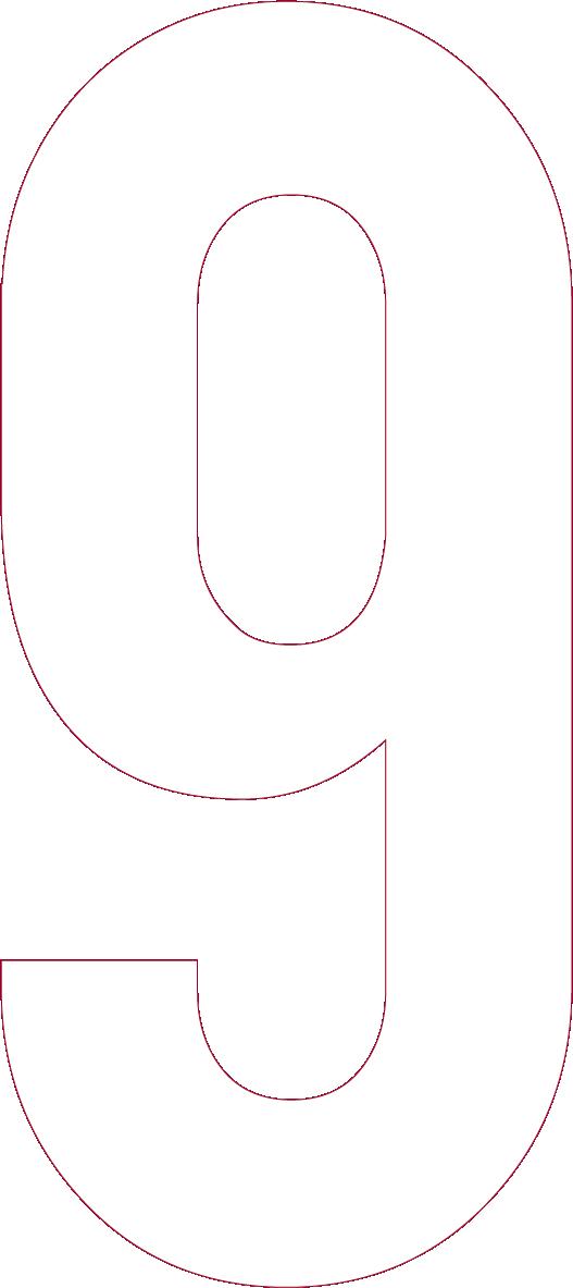 番号「9」