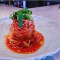 まるでパスタ!冷製トマトのイタリアン焼ビーフン