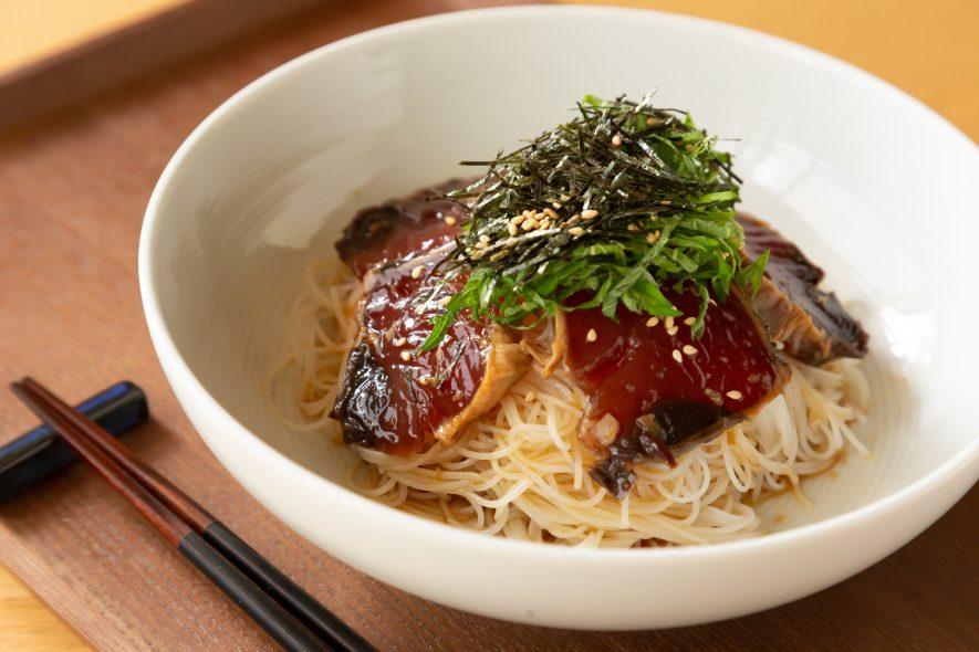 千葉県特産 カツオ漬け丼風ビーフン