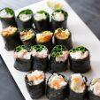 おもてなしに!野菜たっぷり低糖質お寿司