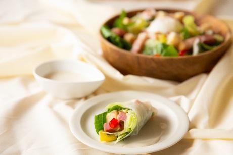 「ライスペーパー革命」Withコロナを楽しむ「手巻き寿司」でない新しい食シーン ライスペーパーで野菜を巻く「手巻きサラダ」で家庭の新定番メニューが誕生「小さな四角いライスペーパー」9月1日(火)新発売