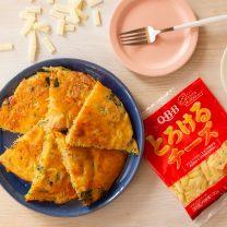 ビーフン1袋で簡単!ポパイ風チーズ卵焼き