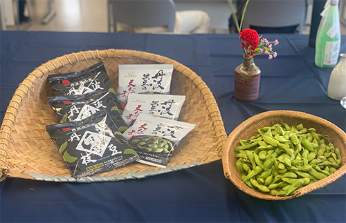 2020年丹波篠山産 丹波黒枝豆の最新トレンドや丹波篠山の魅力を発信『冷凍 丹波篠山産 丹波黒枝豆』特別試食・発表会を開催しました