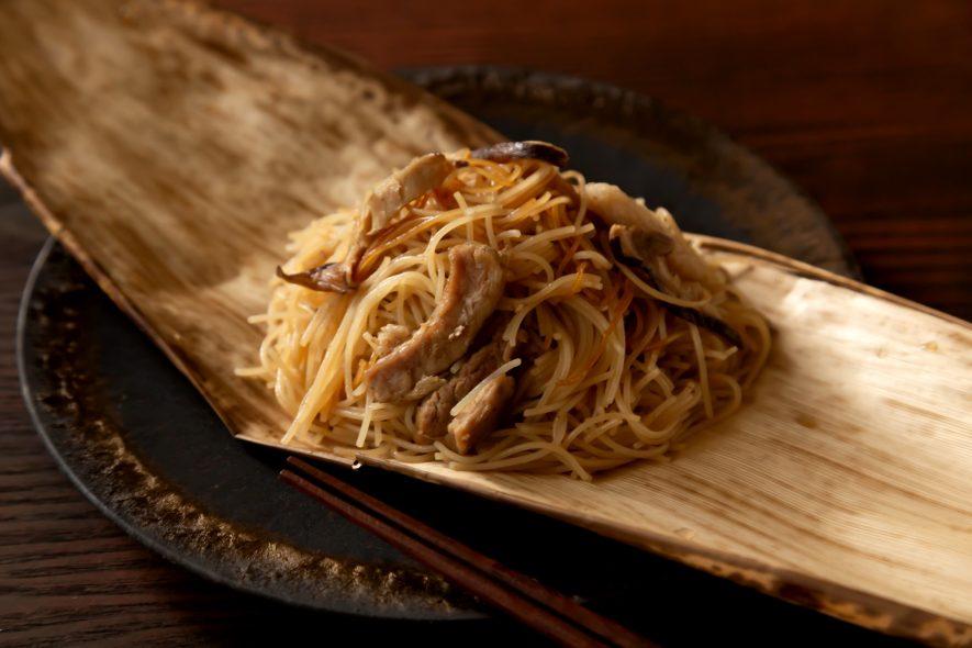 炊飯器でバァーツァン(ちまき風)ビーフン