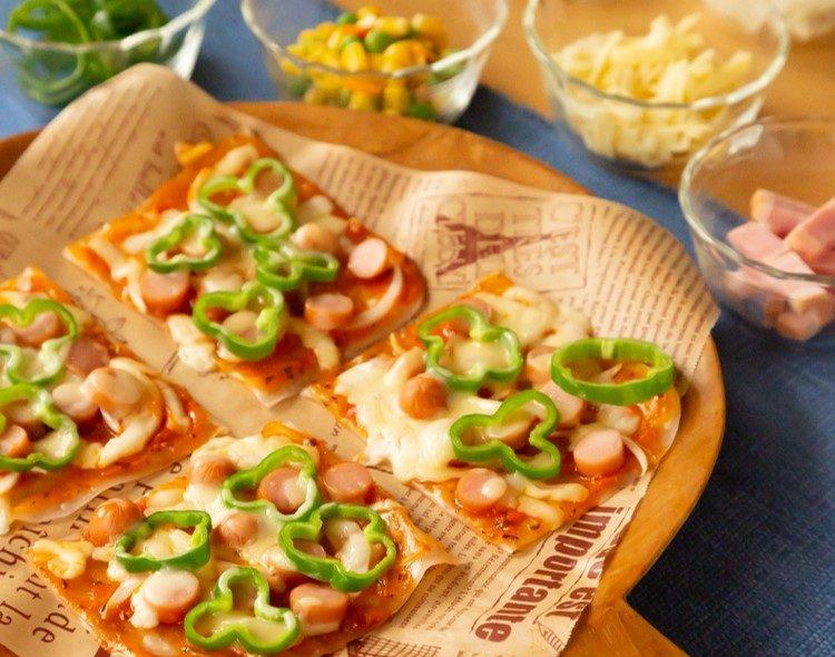 手のひらサイズで簡単♪グルテンフリーピザ
