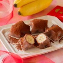 バナナまるごと♪生チョコバナナ大福