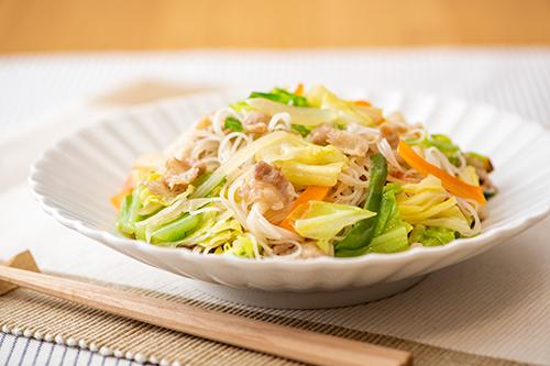 VEGE BE-FUN(ベジビーフン) カット野菜とチンする焼ビーフン