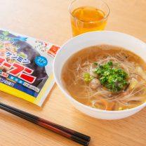 冷凍焼ビーフンを簡単アレンジ♪中華風スープビーフン